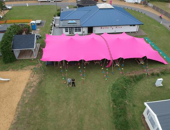 Belle Aire - Tent Navigation